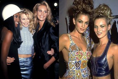 In the 90s, there was nothing quite like being a supermodel. They were the ultimate cool clique - posing for high-fash shoots, downing champers at flashy parties and dating Hollywood's hottest lotharios. <br/><br/>Two decades on, and we're still obsessed with these sexy supers and the illustrious world they schmoozed in. Hello, they didn't get out of bed for less than $10k a day! <br/><br/>Take a look at the original mega-babes who rocked the fashion industry all through the '90s... and see what they look like now!