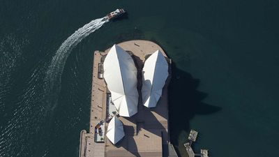 Sydney Opera House from the air