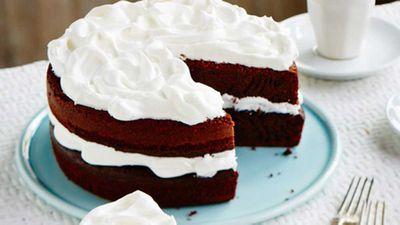 "Recipe: <a href=""http://kitchen.nine.com.au/2017/09/22/11/06/devils-food-cake"" target=""_top"" draggable=""false"">Classic devil's food cake</a>"
