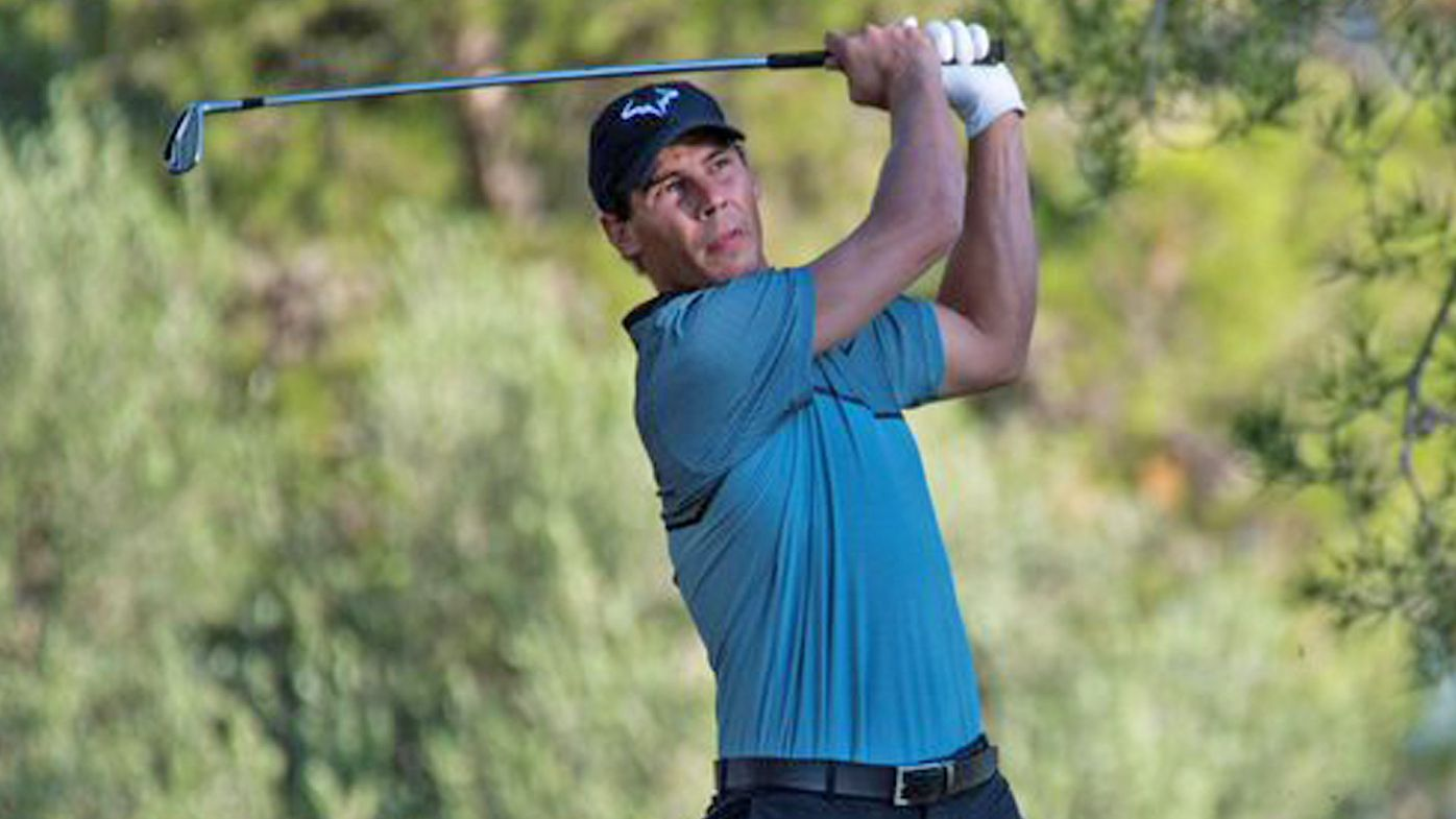 Tennis star Rafael Nadal flaunts golf skills to finish sixth in Spanish tournament