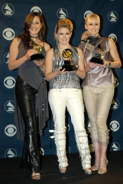 The Chicks, Grammy, 2013,Martie Maguire, Natalie Maines and Emily Robison