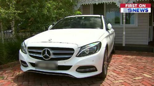 Ms McElligott said she has always dreamed of owning a  Mercedes. (9NEWS)