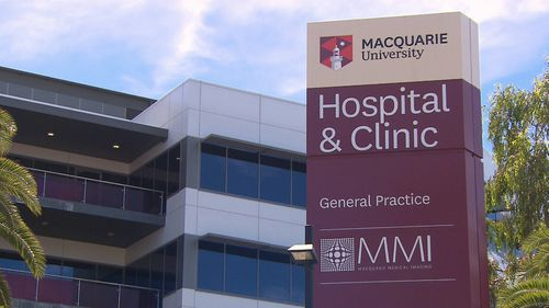 Mr Lau underwent surgery at Macquarie University Hospital. nbut