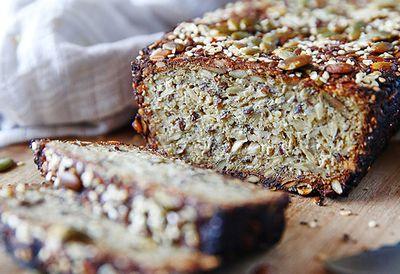 "Recipe: <a href=""https://kitchen.nine.com.au/2016/05/05/09/56/brooke-merediths-glutenfree-quinoa-loaf"" target=""_top"">Brooke Meredith's gluten-free quinoa loaf</a>"