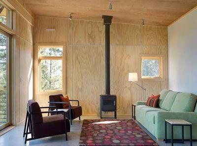 Plywood cladding