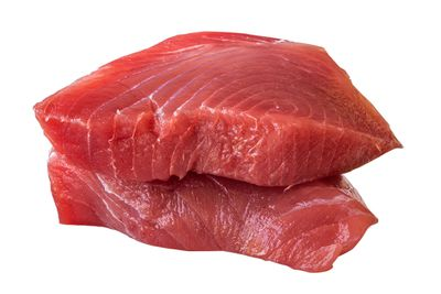 Meat and fish: Up to 50 micrograms per 75g serve
