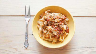 8. Long pasta