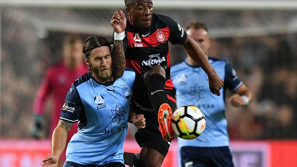 Honours even in Sydney A-League derby