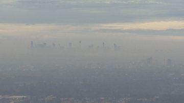 Smoke surrounds Sydney
