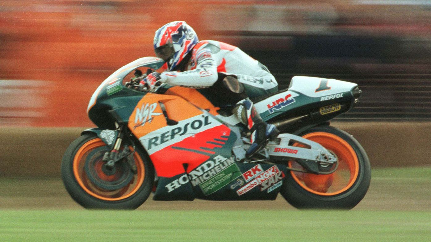 Mick Doohan at Phillip Island in 1997.