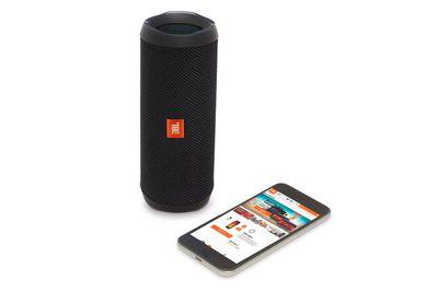 MID-BUDGET: JBL Flip 4 portable Bluetooth speaker ($149.95)