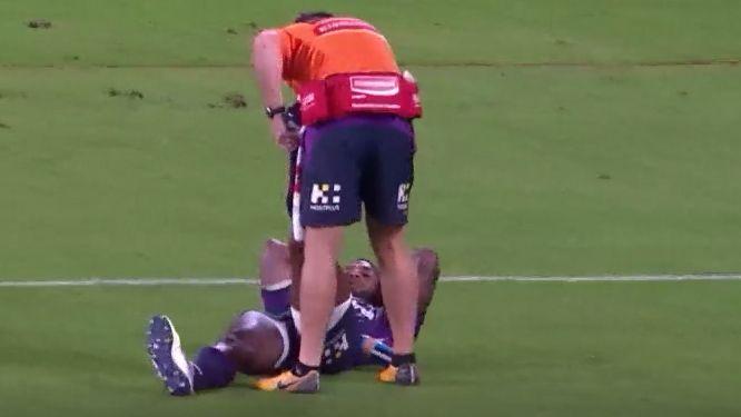 NRL investigating Melbourne Storm trainer over Suliasi Vunivalu injury stoppage