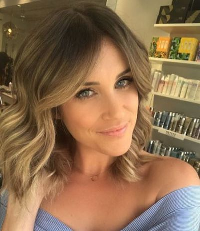 <p><em>The Bachelorette'&nbsp;</em>s Georgia Love turned to a mixture of blonde and copper highlights to embrace the Summer season.</p> <p>&nbsp;</p>