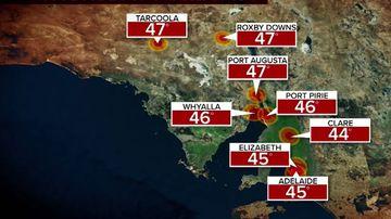 SA weather forecast