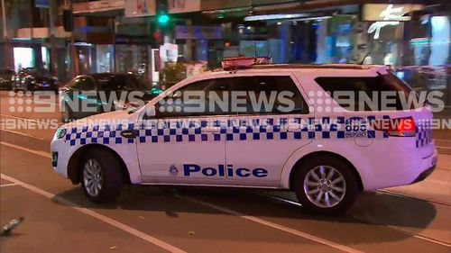 Police claim two men became involved in a fight with two other men on Chapel Street near Malvern Road before 4.30am. (9NEWS)