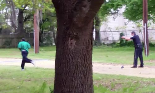 Walter Scott was shot as he ran from an officer.