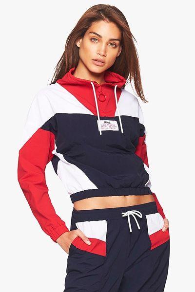 "<a href=""https://www.stylerunner.com/Fila-TESSA-LW183Y74-410"" target=""_blank"" title=""FILA Tessa Pullover Jacket, $150"" draggable=""false"">FILA Tessa Pullover Jacket, $150</a>"
