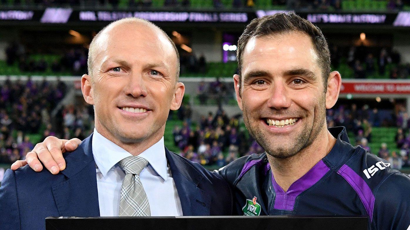 Cameron Smith and Darren Lockyer