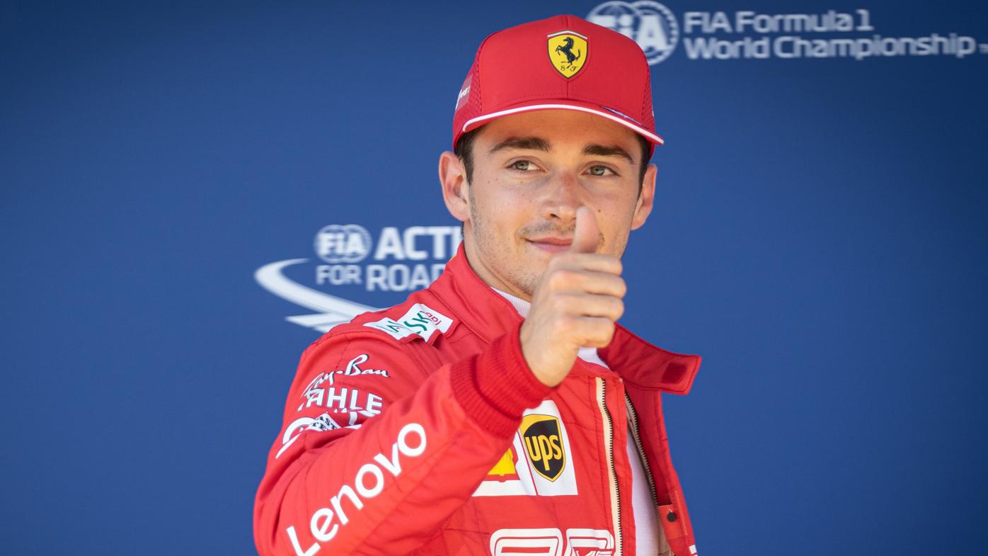 Charles Leclerc on pole for Austrian GP as Daniel Riccardo struggles