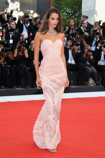 Gabrielle Caunesil&nbsp;at the 2018 Venice Film Festival <br> &nbsp;