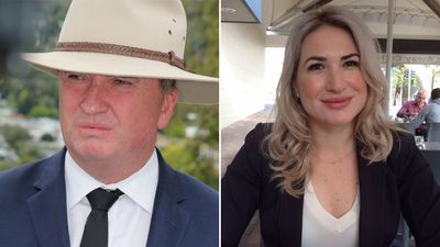 Barnaby Joyce's partner gives birth