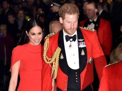 Prince Harry and Meghan Markle public appearance.