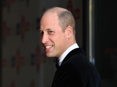 The Duke of Cambridge The Sun's Who Cares Wins Awards