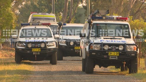 Police were called to a home on Avon Road, Bringelly when a suspicious devise was found on Monday.