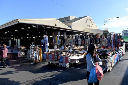 Queen Victoria Market is the 114th place to be added to the National Heritage List. Picture: AAP