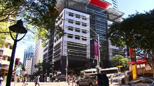 The Ann Street building is one of thousands identified in the audit. Picture: 9NEWS
