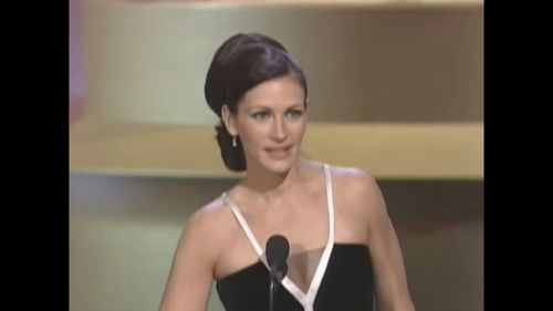 Julia Roberts made one of the longest Oscars acceptance speeches in history.