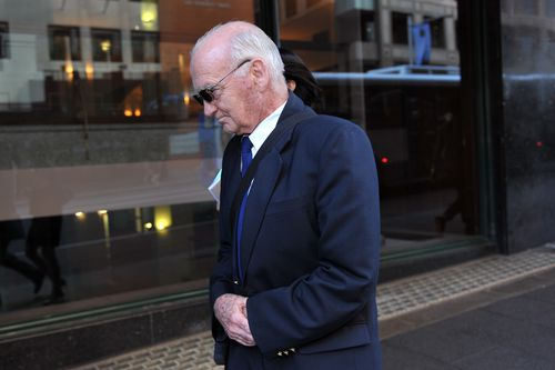 Irish paedophile priest Finian Egan is one of the 17 rapists who is still in Australia. Picture: AAP