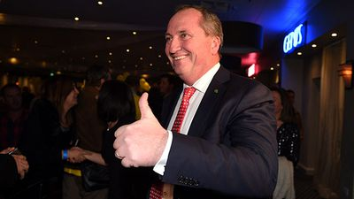 <strong>WINNER</strong><br> Barnaby Joyce (Nationals, New England, NSW) - lives to fight another day as party leader.