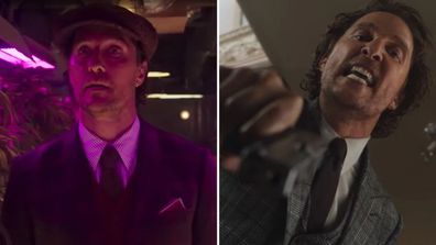 Matthew McConaughey, The Gentleman, movie