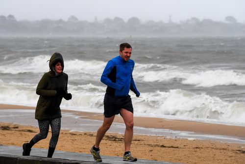 Meteorologists have attributed the glacial weather to an unusually strong front, which also brought sub-zero temperatures to a number of Victorian towns.