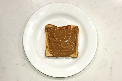 Peanut butter on toast: 205 calories