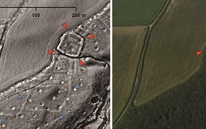 Dozens of ancient sites discovered by archaeologists working from home