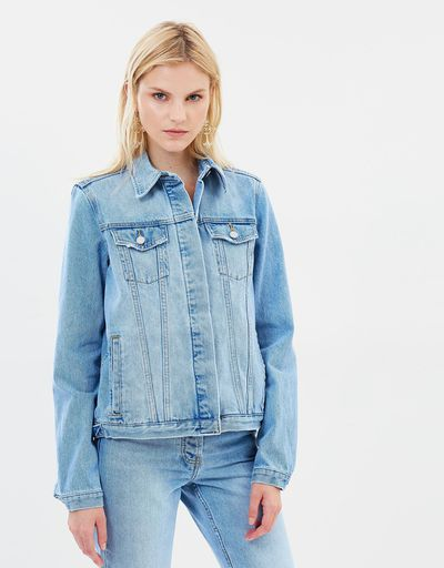 """<a href=""""https://www.theiconic.com.au/gisella-boxy-jacket-645628.html"""" target=""""_blank"""" title=""""Camilla and Marc Gisella Boxy Jacket in Bleached Indigo, $330"""">Camilla and Marc Gisella Boxy Jacket in Bleached Indigo, $330</a>"""
