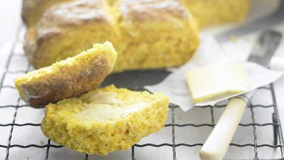 "<a href=""http://kitchen.nine.com.au/2016/05/16/17/13/pumpkin-scones"" target=""_top"">Pumpkin scones</a> recipe"