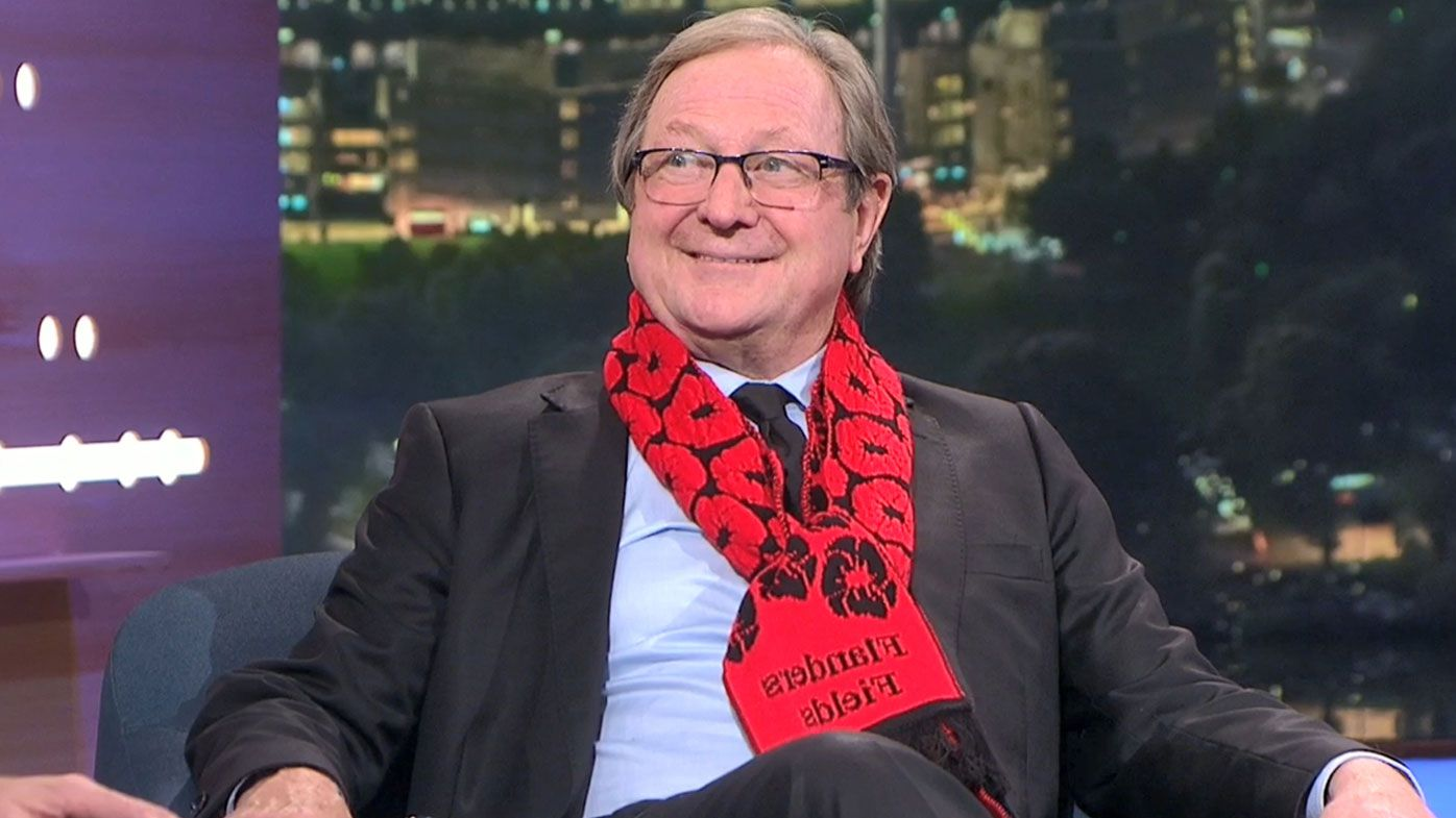 Kevin Sheedy's hilarious response to ANZAC Day booing controversy