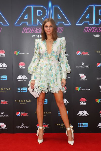 <p>The ARIA Music Awards are like Christmas for Australian pop stars, TV personalities and Insta-celebrities as they abandon all dress codes and wear whatever they want - or can beg, borrow and steal from a stylist.</p> <p>With jewelry giant Swarovski sponsoring this year's red-carpet we hope the ensembles pack plenty of sparkle.</p> <p>Here are the most stylish, outrageous and intriguing ensembles on the red carpet at the 2017 ARIA Awards.</p> <p>Take it away E! Australia host Ksenija Lukich in Zimmermann.</p>