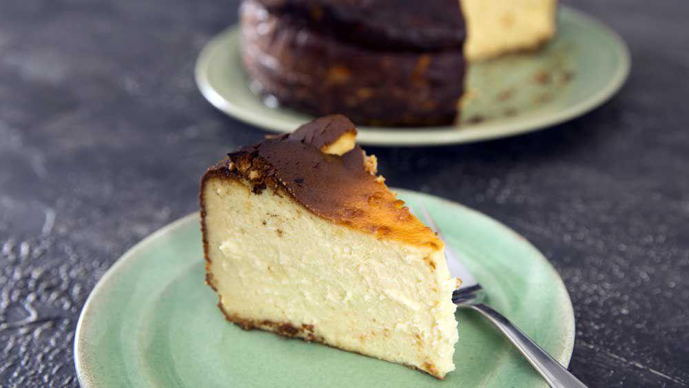 Dani Valent's cheesecake