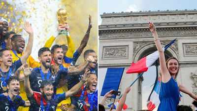 French jubilation after thumping 4-2 win