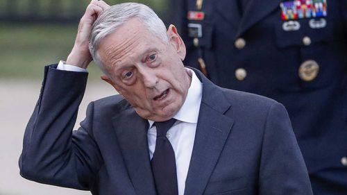 Secretary of Defence Jim Mattis.
