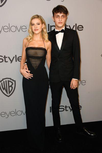 Actress Nicola Peltz and model Anwar Hadid