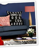 Make a statement cushion - easily!