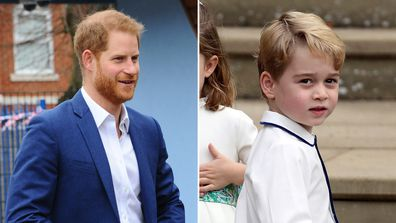 Why Prince George and Prince Harry are never photographed together