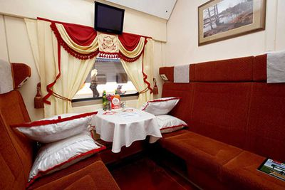 Russian Railways -- Moscow, Russia to Nice, France