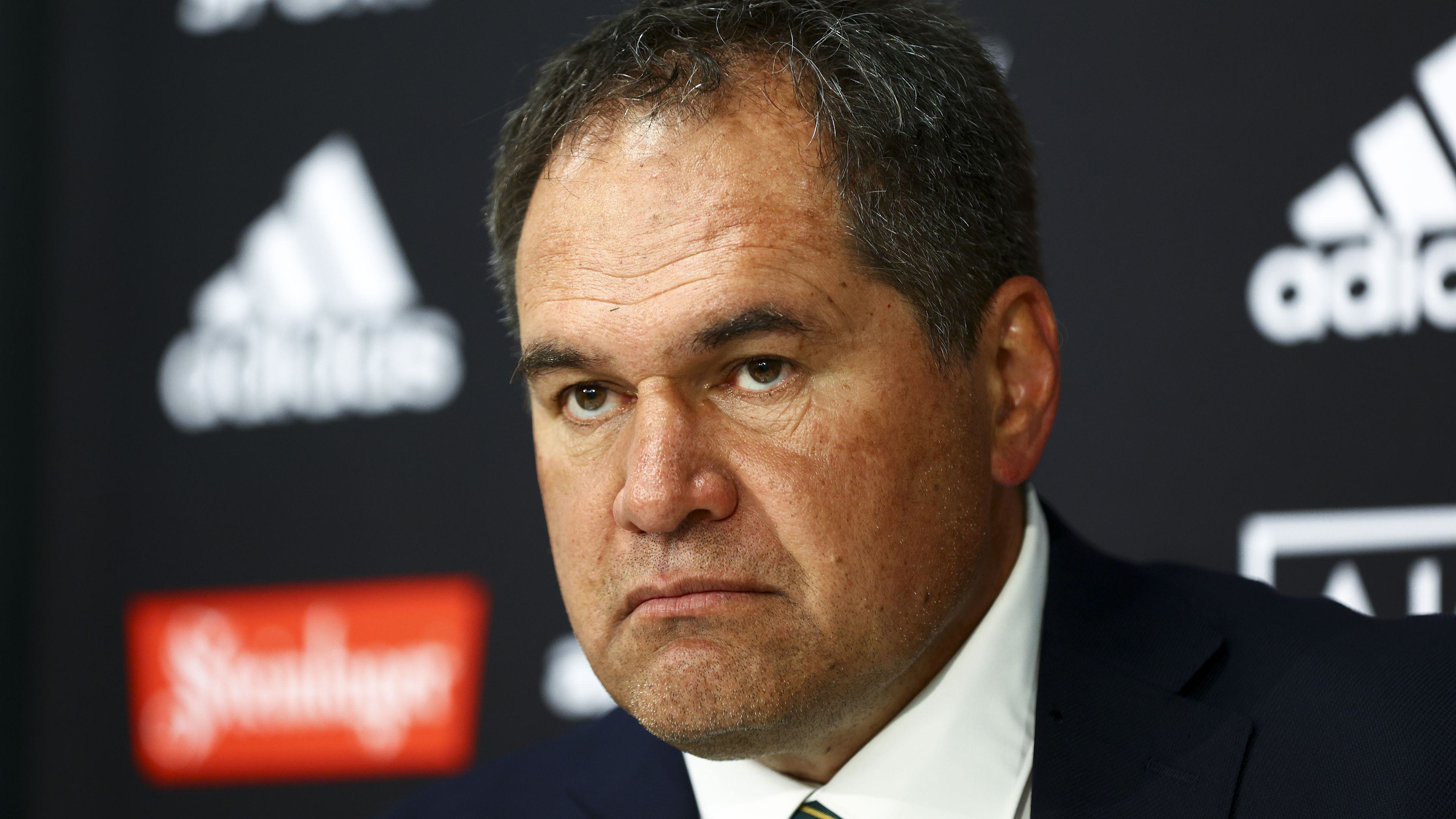 Coach Dave Rennie of Australia after the Bledisloe Cup.