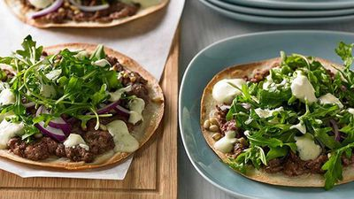 "Recipe: <a href=""http://kitchen.nine.com.au/2016/05/05/11/05/lamb-kofta-pizza"" target=""_top"">Lamb kofta pizza</a>"